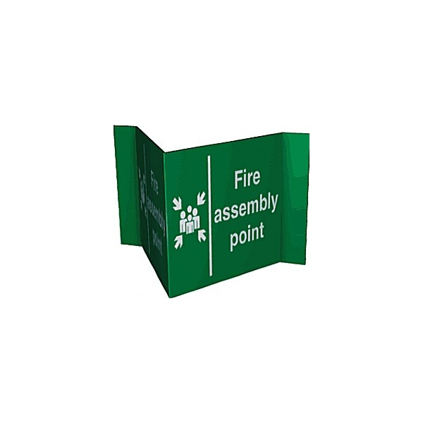 Fire Assembly Point Projection Sign