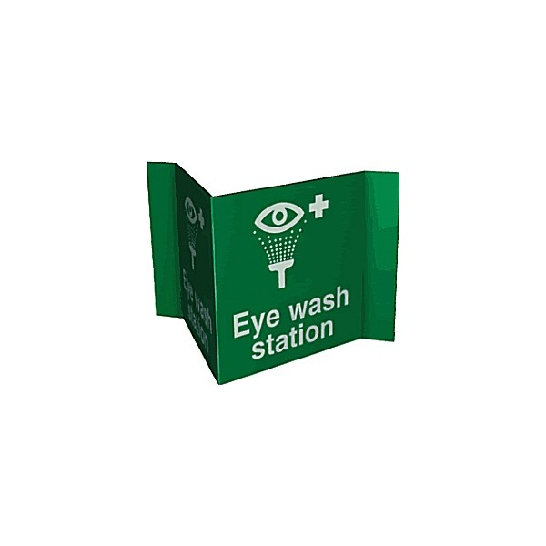 Eye Wash Station Projection Sign
