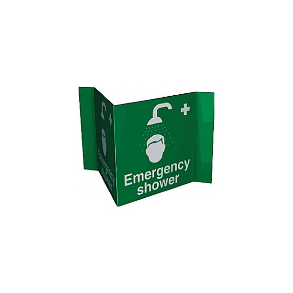 Emergency Shower Projection Sign