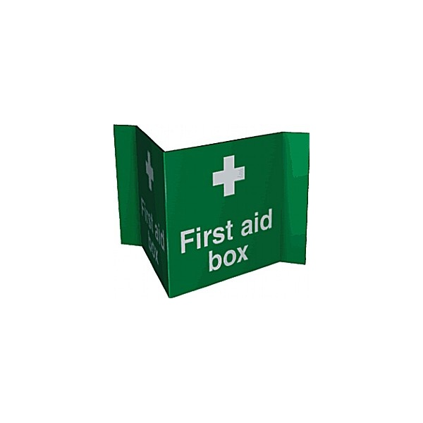 First Aid Box Projection Sign