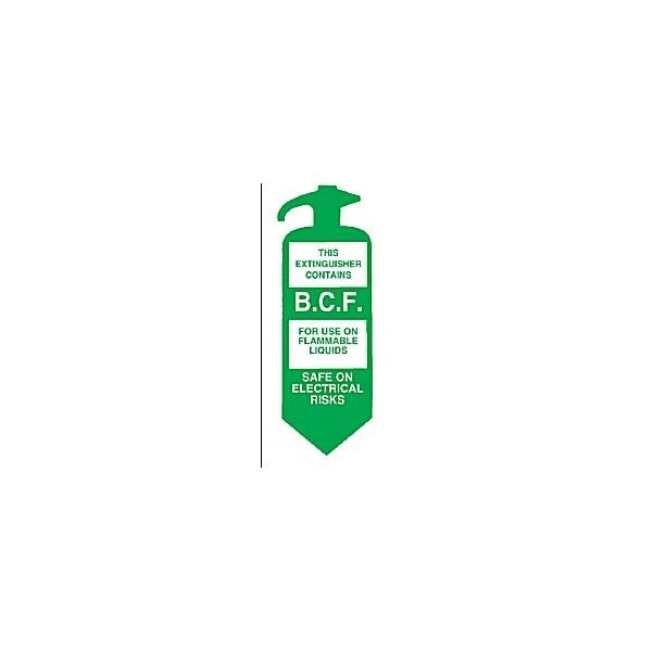 B.C.F. Usage Description Sign