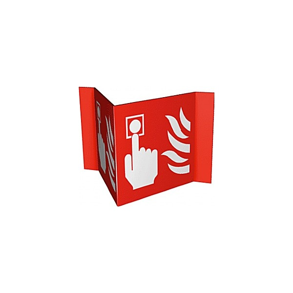 Fire Alarm Projection Fire Sign