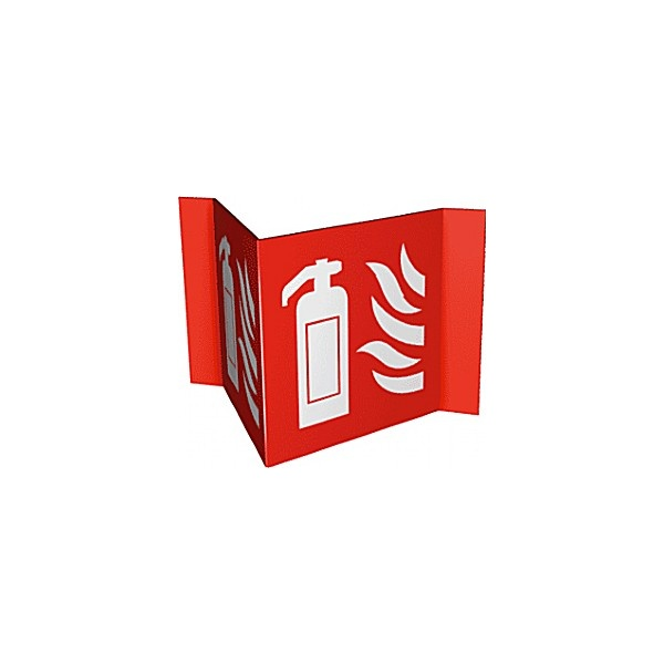 Fire Extinguisher Projection Fire Sign