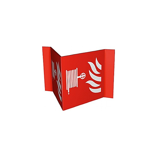 Hose Reel Projection Fire Sign