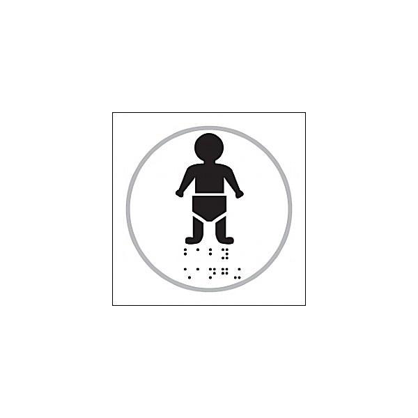 Braille Baby Change Symbol