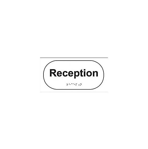Braille Reception Sign
