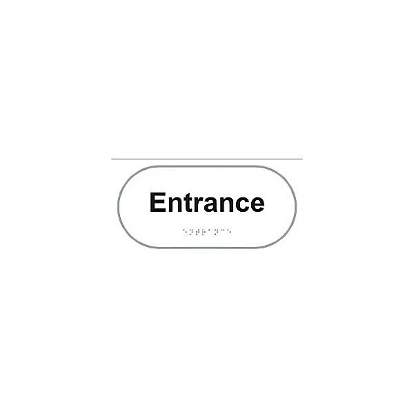 Braille Entrance Sign