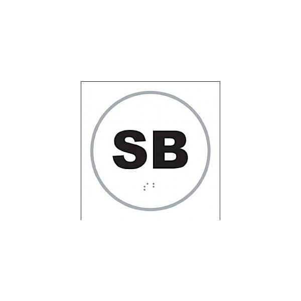 Braille SB Sign