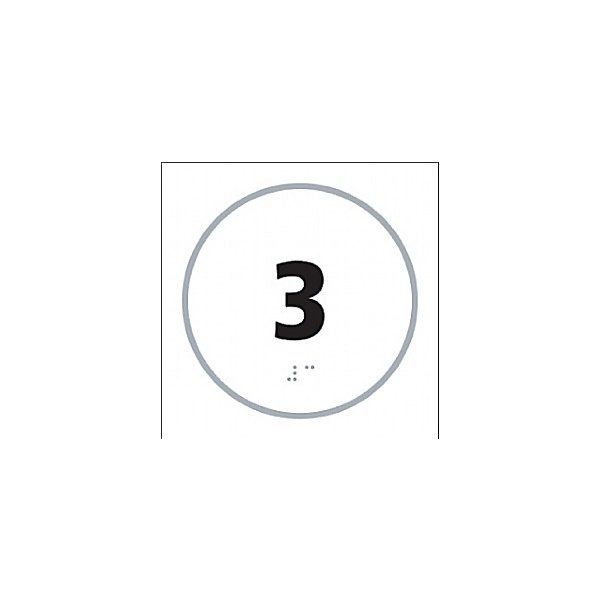 Braille '3' Symbol