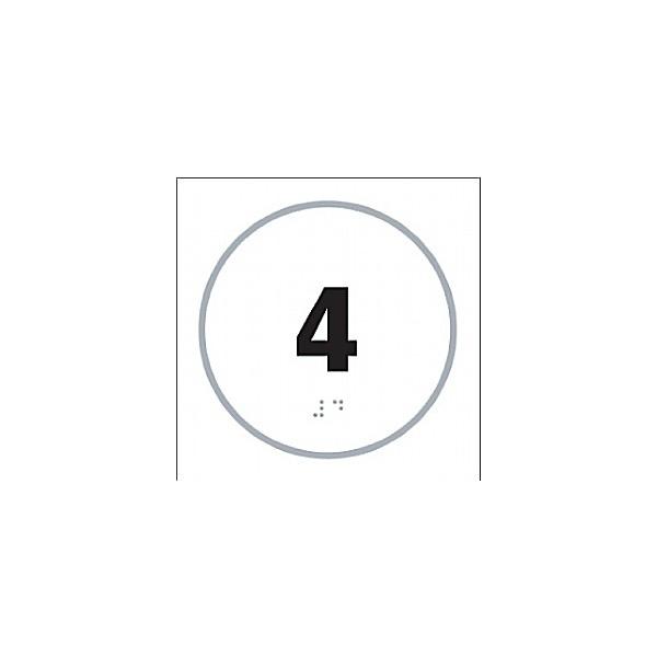 Braille '4' Symbol
