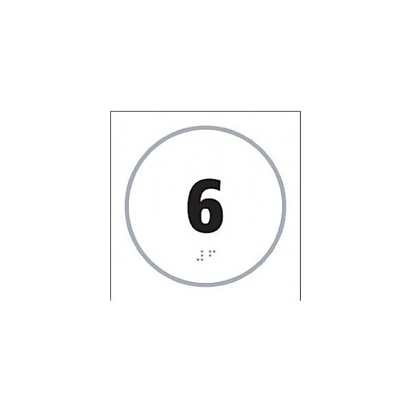 Braille '6' Symbol