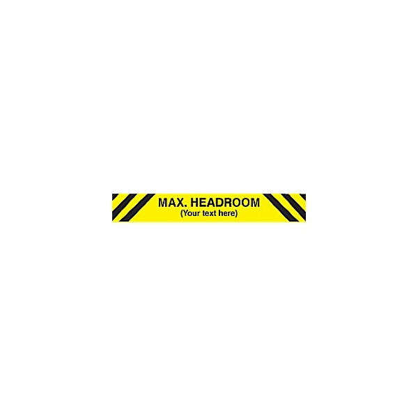 Max. Headroom Sign