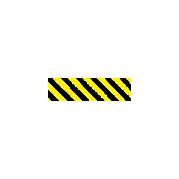Yellow/Black Diagonal Lines