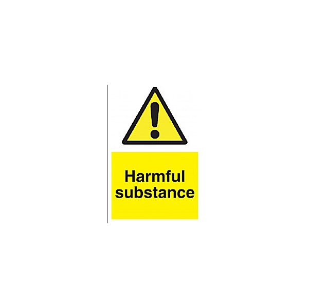 Harmful Substance Sign