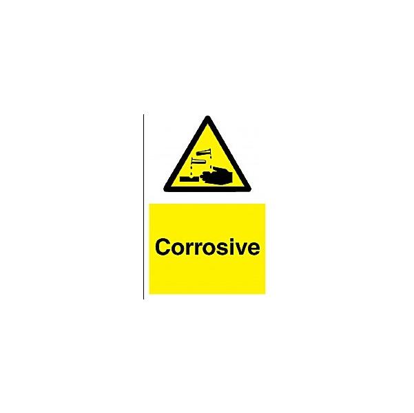 Corrosive Sign