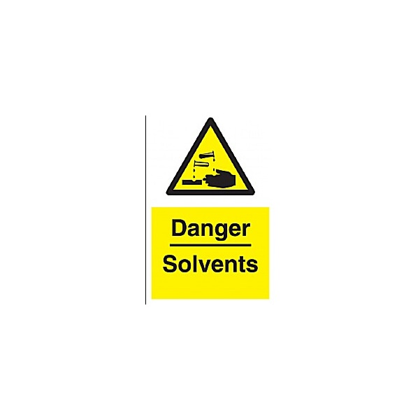 Danger Solvenst Sign