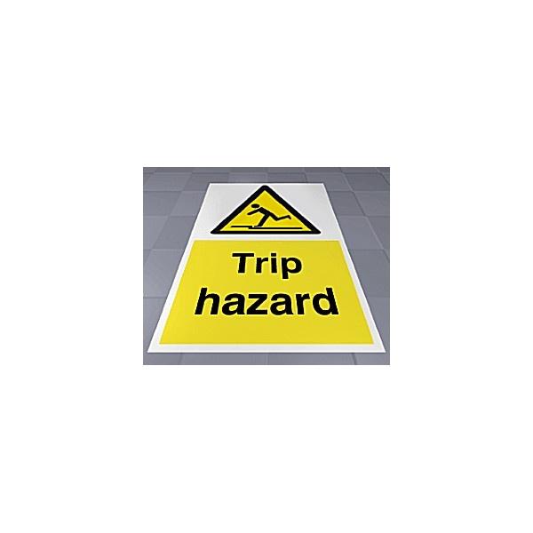 Trip Hazard Floor Sign