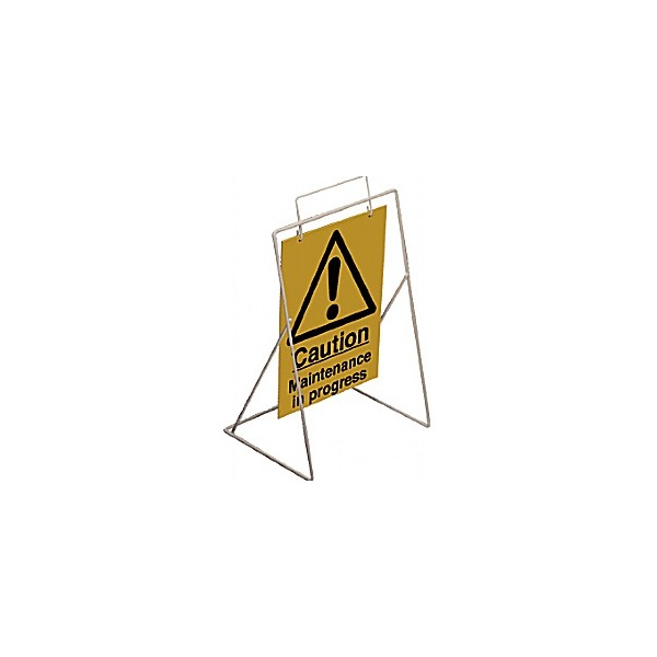 Caution Maintenance In Progress Swing Sign