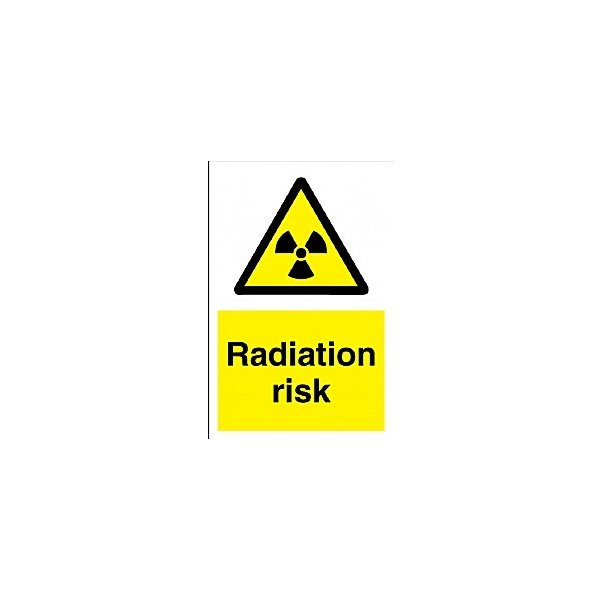 Radiation Risk Sign