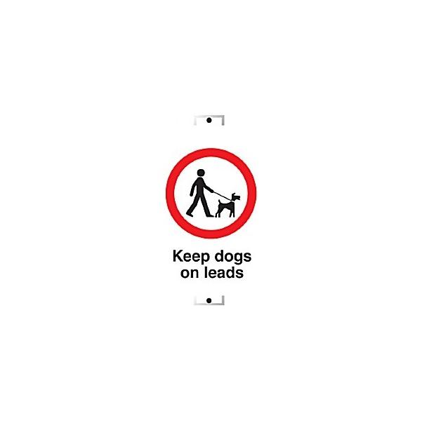 Custom Keep Dogs On Lead Sign
