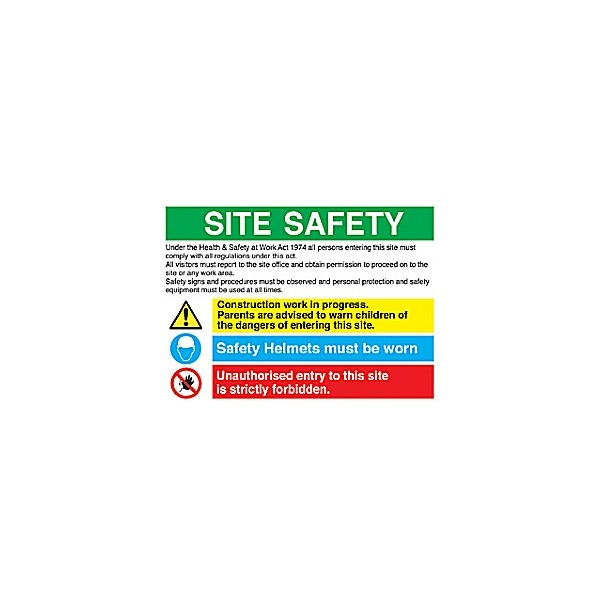 Site Safety Sign 1