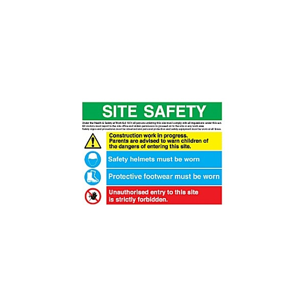 Site Safety Sign 3