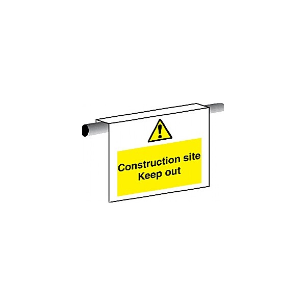 Construction Site Keep Out Scaffold Sign