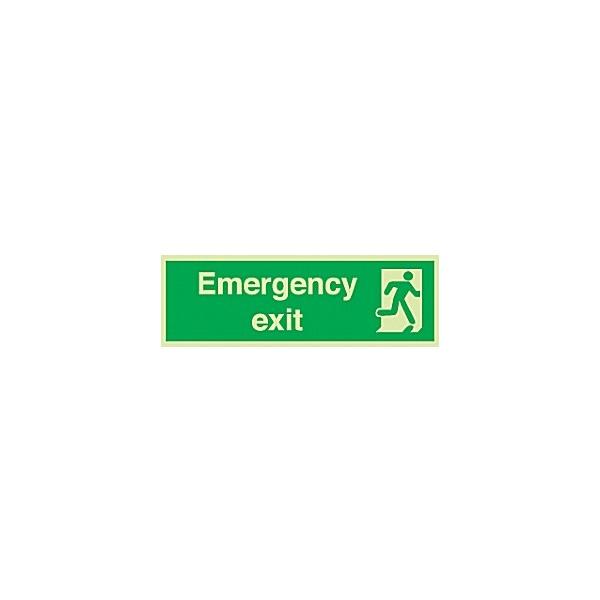 Emergency Exit Gemglow Sign