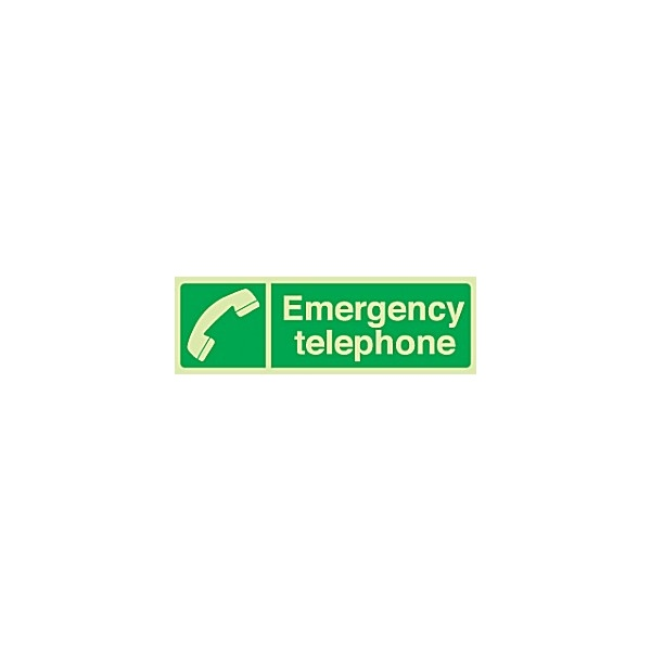 Emergency Telephone Gemglow Sign