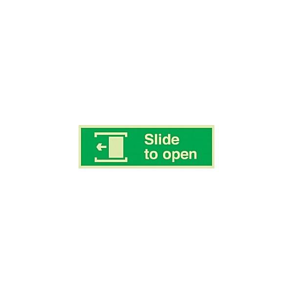 Slide (Left) To Open Gemglow Sign