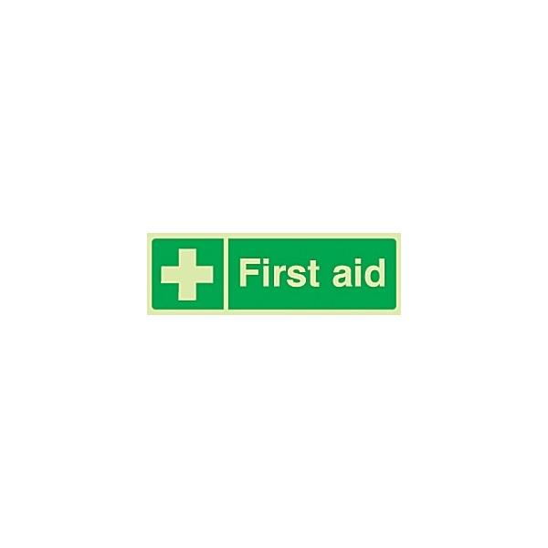 First Aid Gemglow Sign