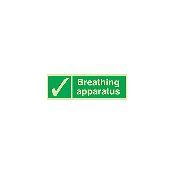 Breathing Apparatus Gemglow Sign