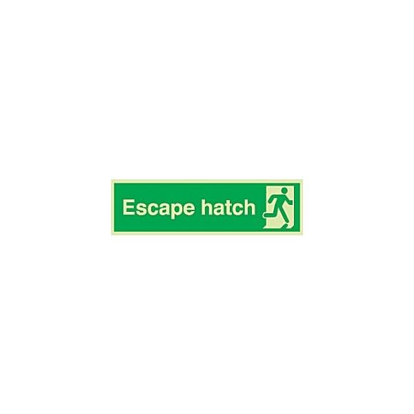 Escape Hatch Gemglow Sign