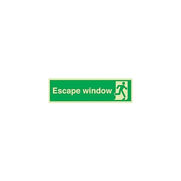 Escape Window Gemglow Sign