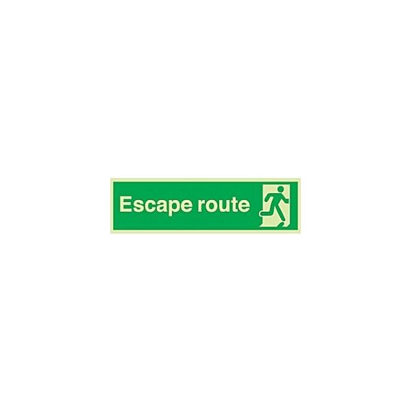 Escape Route Gemglow Sign