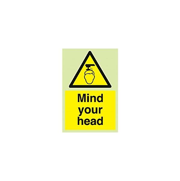 Mind Your Head Gemglow Sign