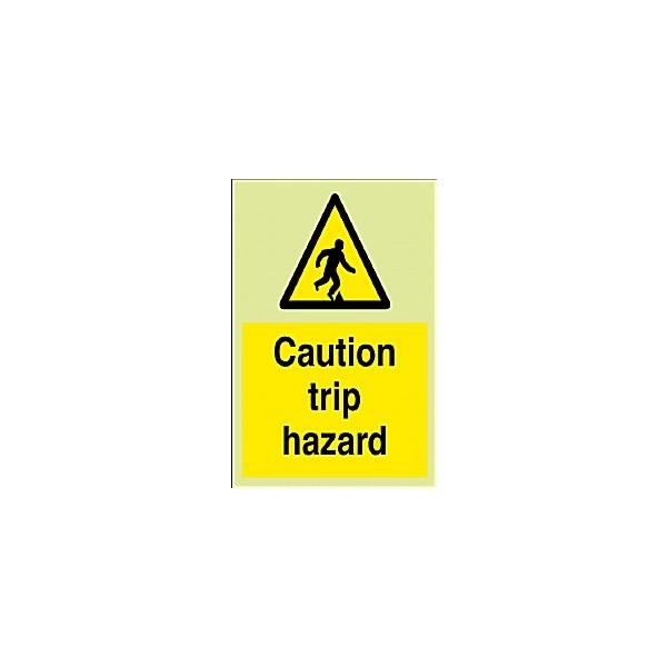 Caution Trip Hazard Gemglow Sign