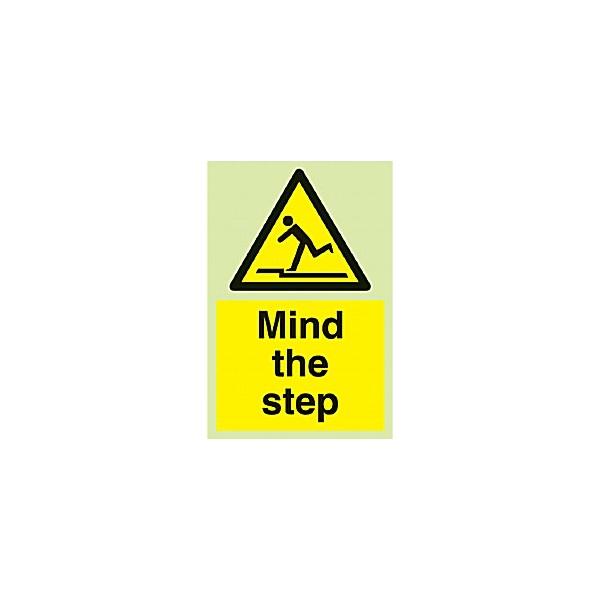 Mind The Step Gemglow Sign