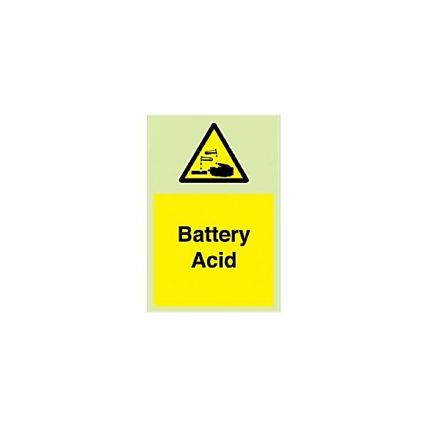 Battery Acid Gemglow Sign