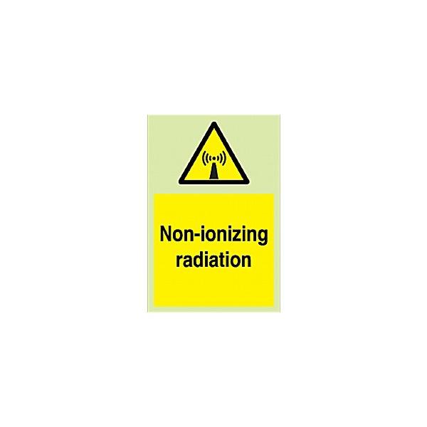 Non Inonizing Radiation Gemglow Sign