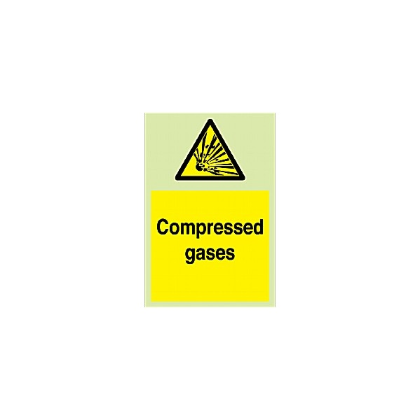 Compressed Gases Gemglow Sign