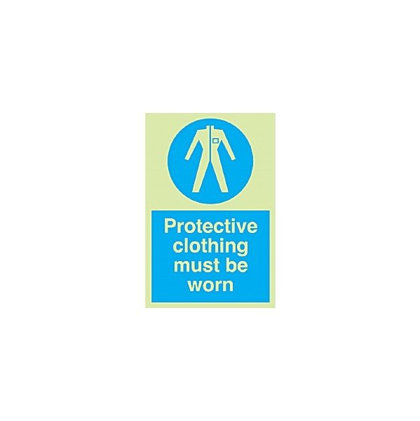 Protective Clothing Must Be Worn Gemglow Sign