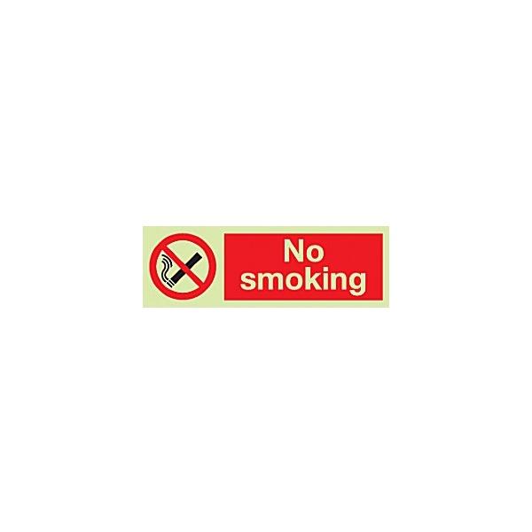 No Smoking Gemglow Sign