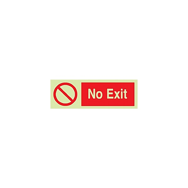No Exit Gemglow Sign