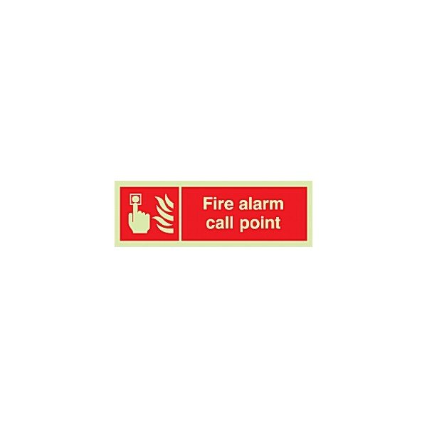 Fire Alarm Call Point Gemglow Sign