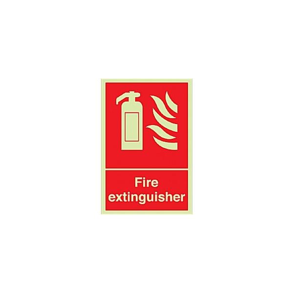 Fire Extinguisher Gemglow Sign
