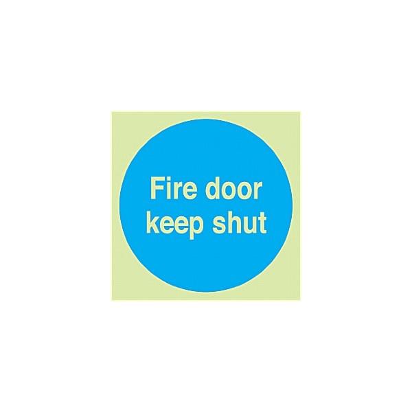 Fire Door Keep Shut Gemglow Sign