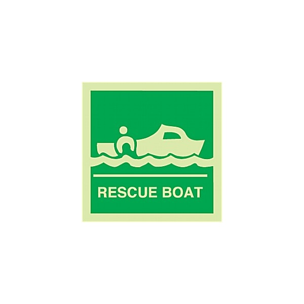 Gemglow Rescue Boat Sign