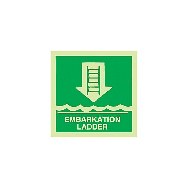 Gemglow Embarkation Ladder Sign