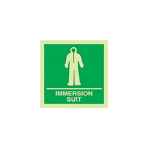 Gemglow Immersion Suit Sign